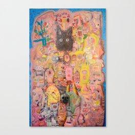 Pink Nightmare Canvas Print