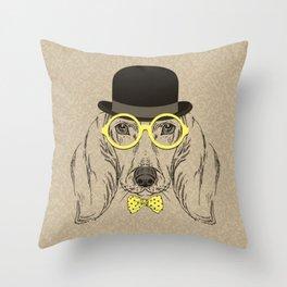 Sr Dog Throw Pillow