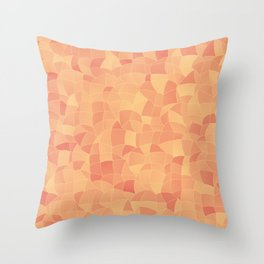 Geometric Shapes Fragments Pattern 2 po Throw Pillow