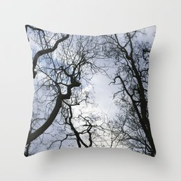 Branches of trees Throw Pillow