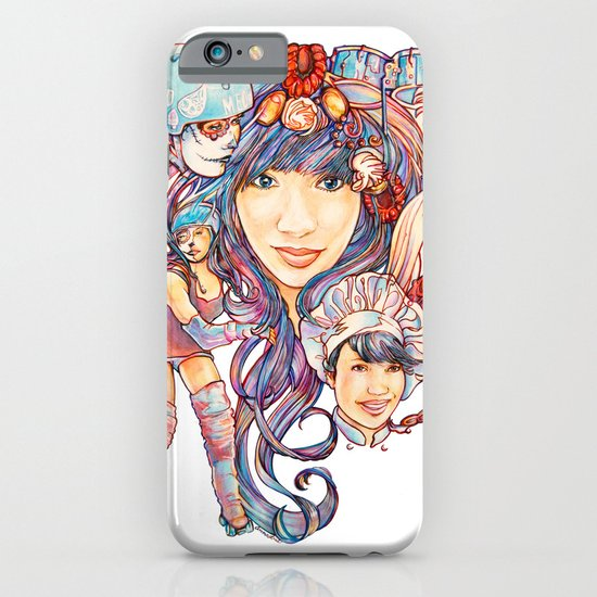 Pintsizevillan portrait iPhone & iPod Case