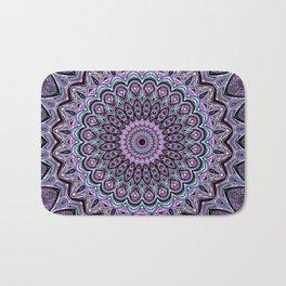Blackberry Bliss - Mandala Art Bath Mat