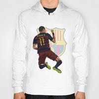 neymar Hoodies featuring Neymar  by siddick49