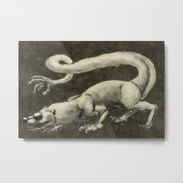 Ahuizotl--Fantasy Monsters Metal Print