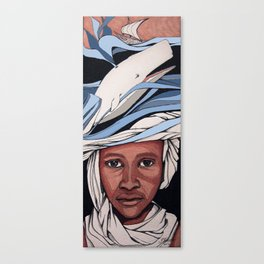 A fisherman dream Canvas Print