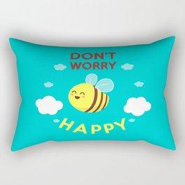 Buzzing life! Rectangular Pillow