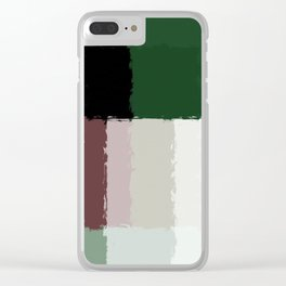 Abstract 30 Clear iPhone Case