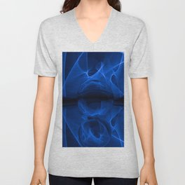 Abstract Glass Ball Unisex V-Neck