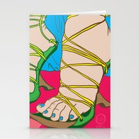 feet Stationery Cards featuring Feet by Mauro Squiz Daviddi