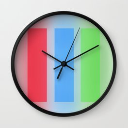 Pillars Wall Clock