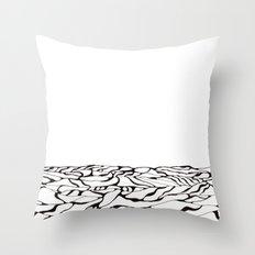 Oceanscape No. 2 Throw Pillow