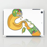 sports iPad Cases featuring The Sports Drinker by Brandon Ortwein