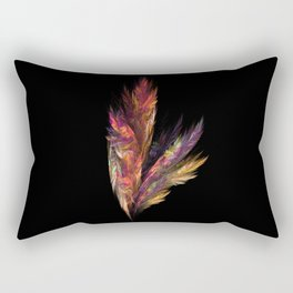 flora color fractal Rectangular Pillow