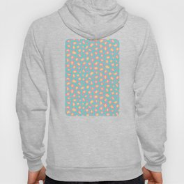 Leopard Baby - Pink and  Blue Hoody