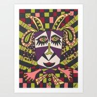 ram Art Prints featuring Ram by Yael Eshkar