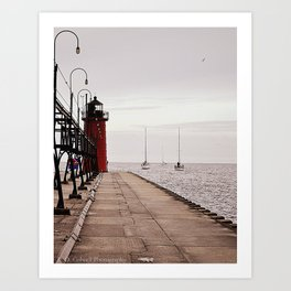 Nautical Scene #2 Art Print