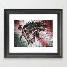 Bliss To Devastation Framed Art Print