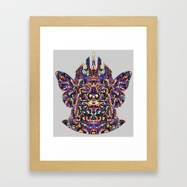 Dimensional Traveller Framed Art Print