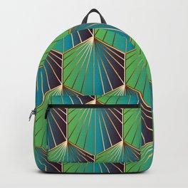 Glam Rock Ocean Blue Backpack