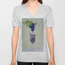 Metamorphosis - From Vine to Wine in the Finger Lakes Unisex V-Neck