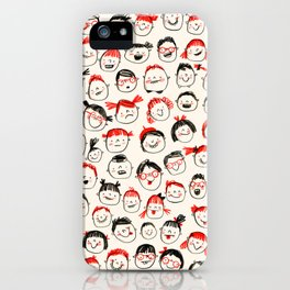 Silly Faces iPhone Case