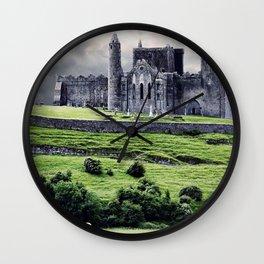 World Popular Historic The Rock Of Cashel Castle County Tipperary Ireland Europe Ultra HD Wall Clock