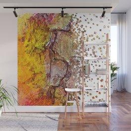Yellow Tree Wall Mural