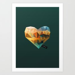 Vector Love 03 Art Print
