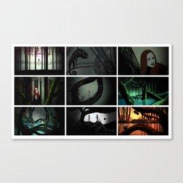 Return the Fall (Screenshots) Canvas Print