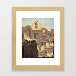 American Gothix Framed Art Print