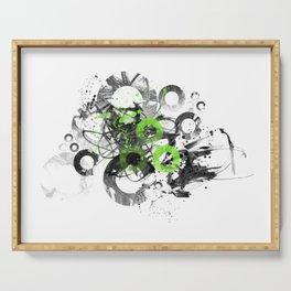 Abstract Art CIRCLES No. 3 Serving Tray