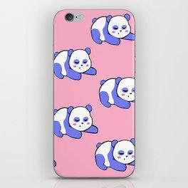 For the sleepy pandas iPhone Skin