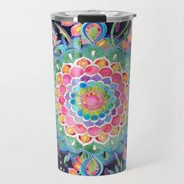 Color Celebration Mandala Travel Mug