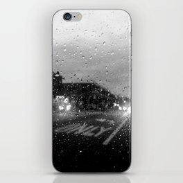 Rain in Ridgewood iPhone Skin