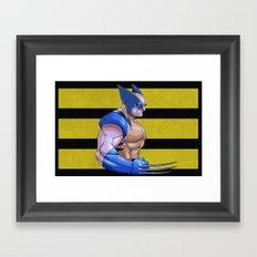 Snikt Framed Art Print