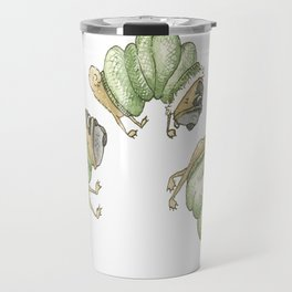 The Very Hungry Pug Travel Mug