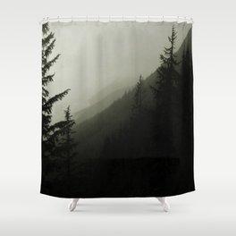 Rolling Mist Shower Curtain