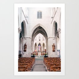 The Netherlands 0002: Church in Hulst, The Netherlands (002) Art Print