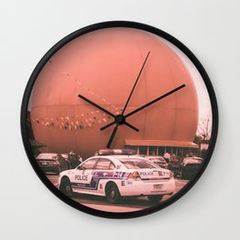 Time for a juice  , the big orange julep Montréal Québec Canada Wall Clock
