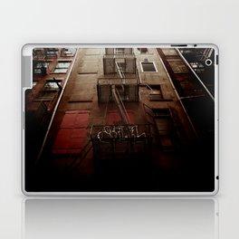 manhattan alley Laptop & iPad Skin