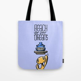 Skribbles: Reach for your dreams Tote Bag