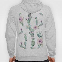 Arizona Desert Rose Cactus Pattern Hoody