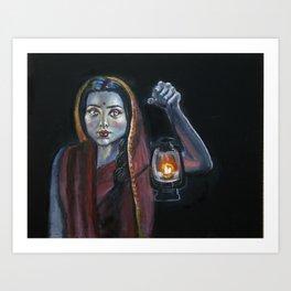 Radha Art Print