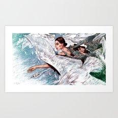 A Gaivota Art Print