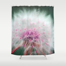 Dandelions are Soft Shower Curtain