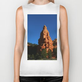 Red Rock Canyon Rockformation Biker Tank