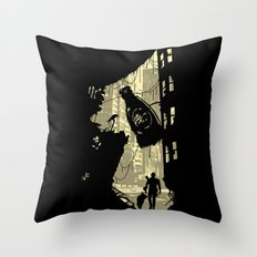 Life after vault 111 Throw Pillow