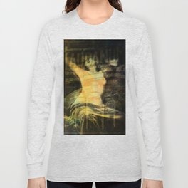 Laudanum, Vintage Advertisement Collage Long Sleeve T-shirt