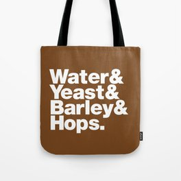 The Fab 4 - Beer (colour) Tote Bag