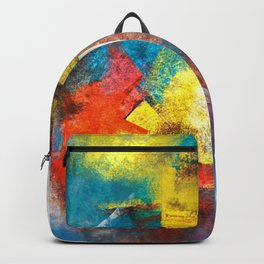 Infinity abstract painting | Abstract Painting Backpack